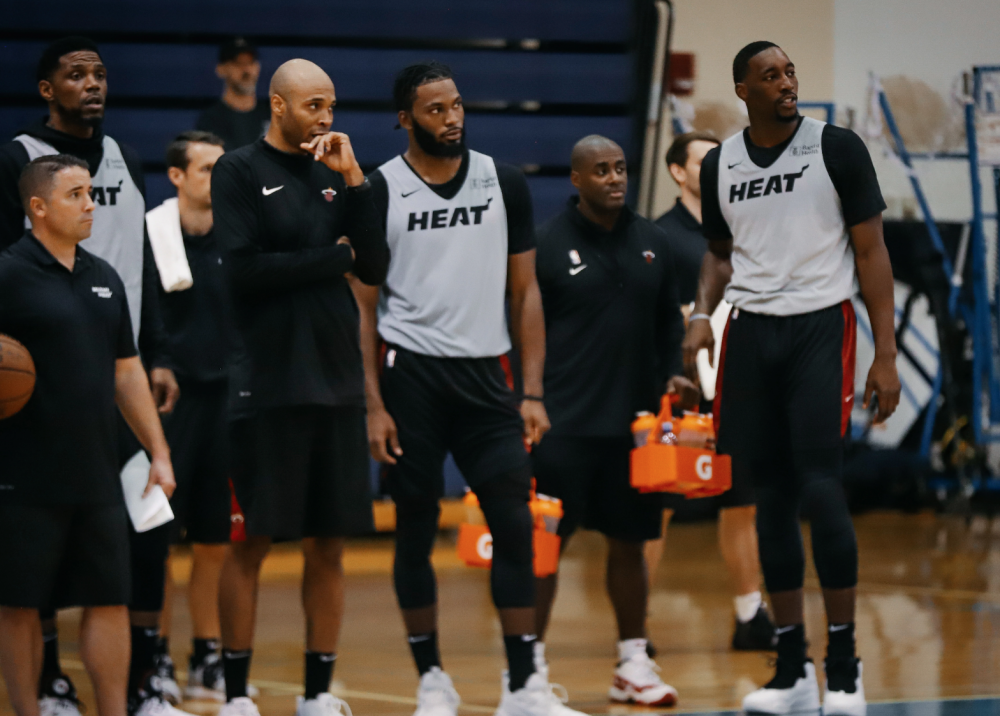 Report: Miami Heat Make Players Wear Mouth Guards and Knee Pads Due to Intensity of Practices