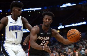 Jimmy Butler and Jonathan Isaac