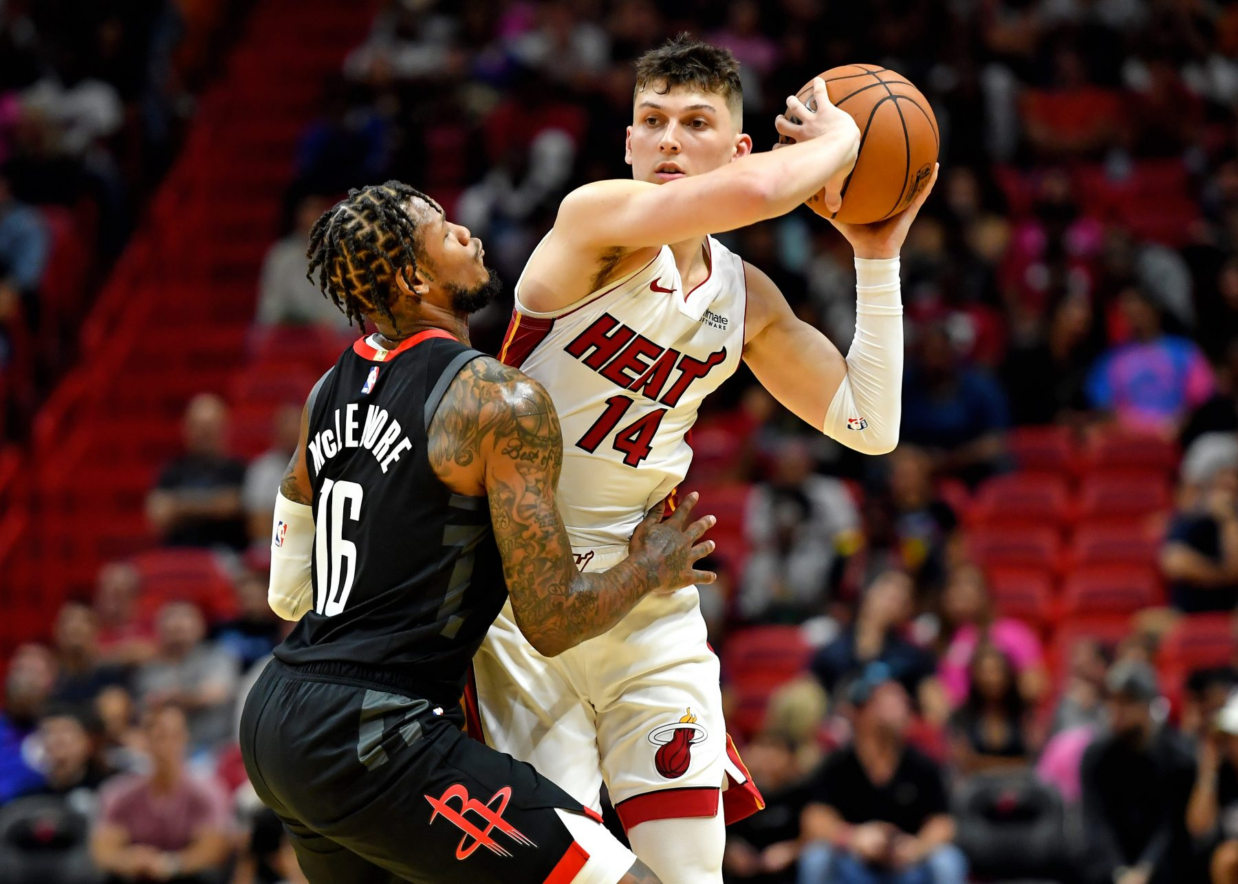 Tyler Herro Miami Heat Houston Rockets