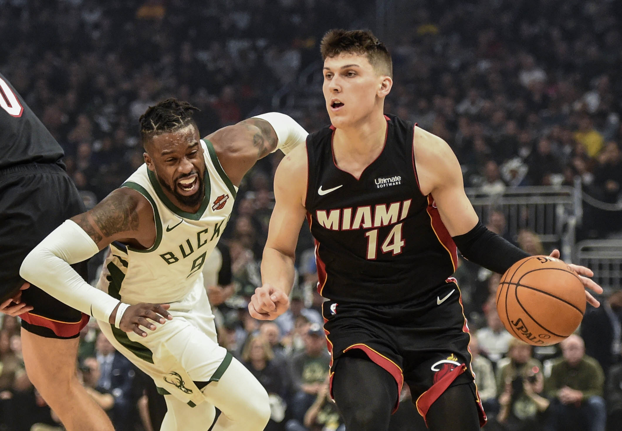 Jimmy Butler And Dwyane Wade React To Heat S Thrilling Win Vs Bucks Heat Nation