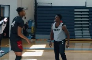 Jimmy Butler and KZ Okpala