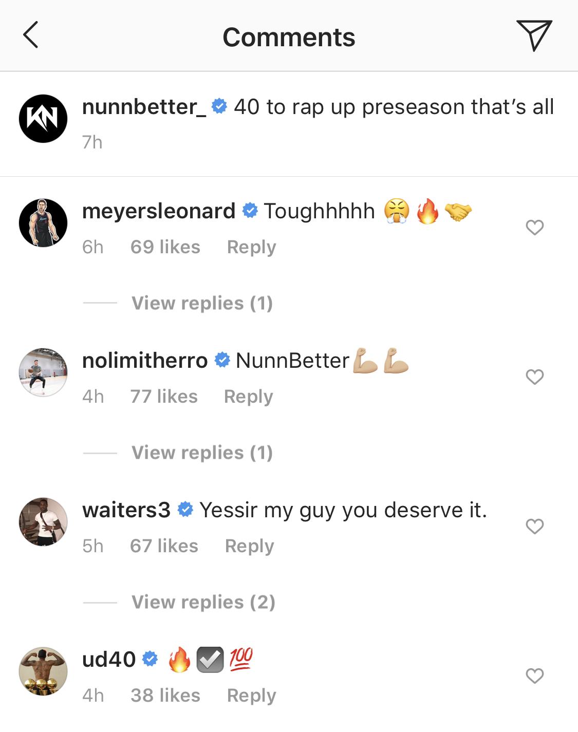 Kendrick Nunn Social Media Reaction