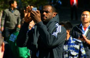 LeBron James China