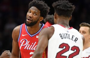 Joel Embiid and Jimmy Butler