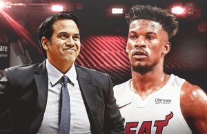 Erik Spoelstra and Jimmy Butler