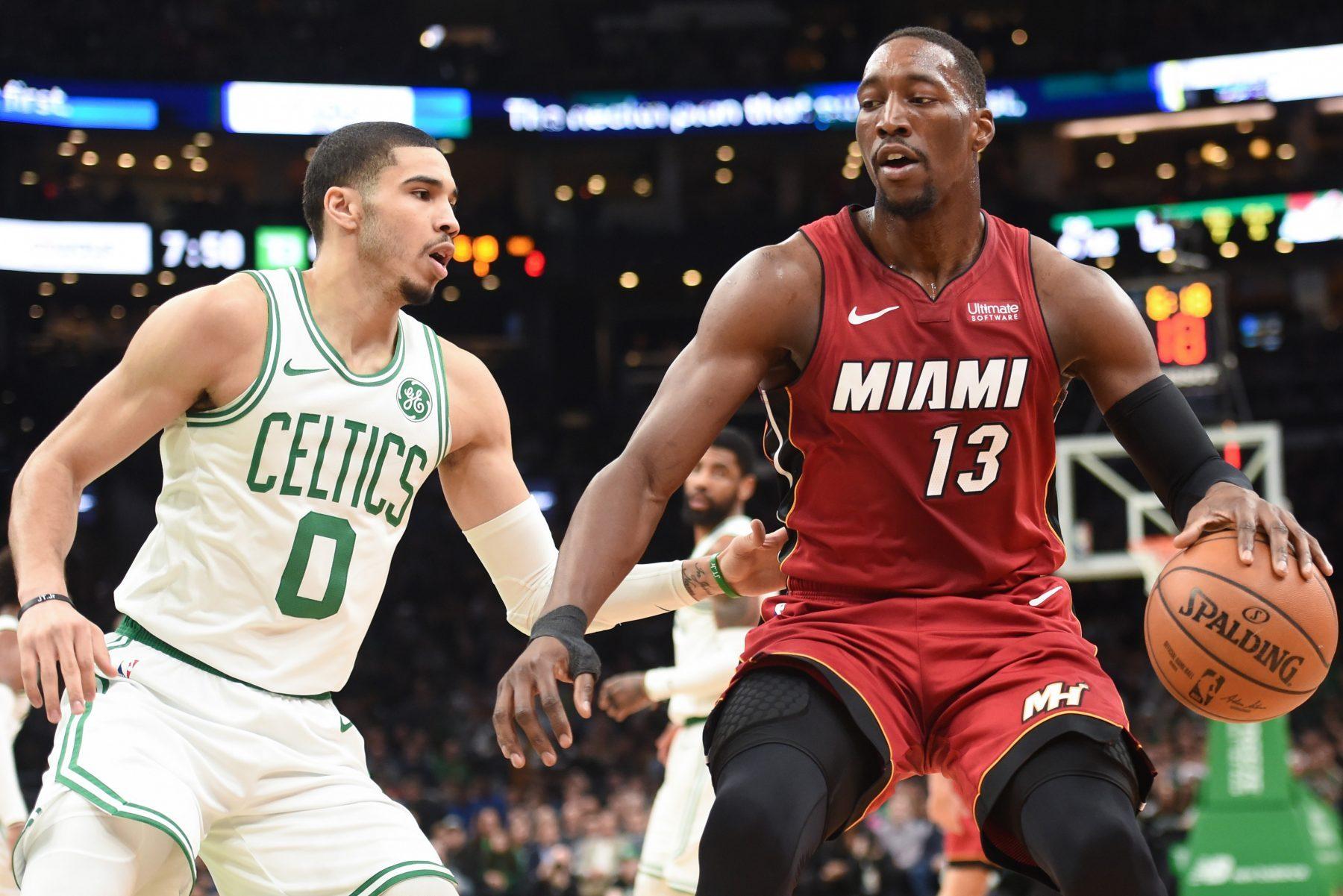 Bam Adebayo and Jayson Tatum Exchange Trash Talk After Miami Heat Loss vs.  Boston Celtics - Heat Nation
