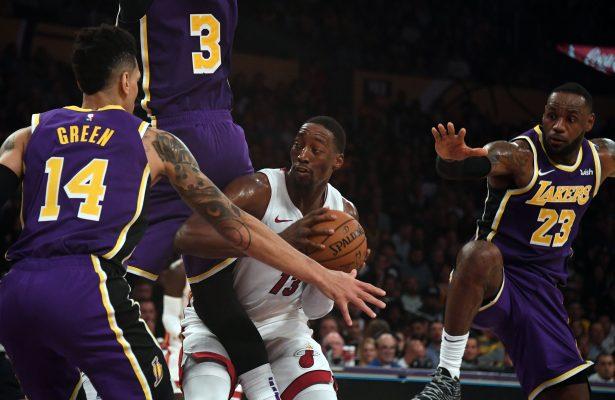 Lakers Miami Heat