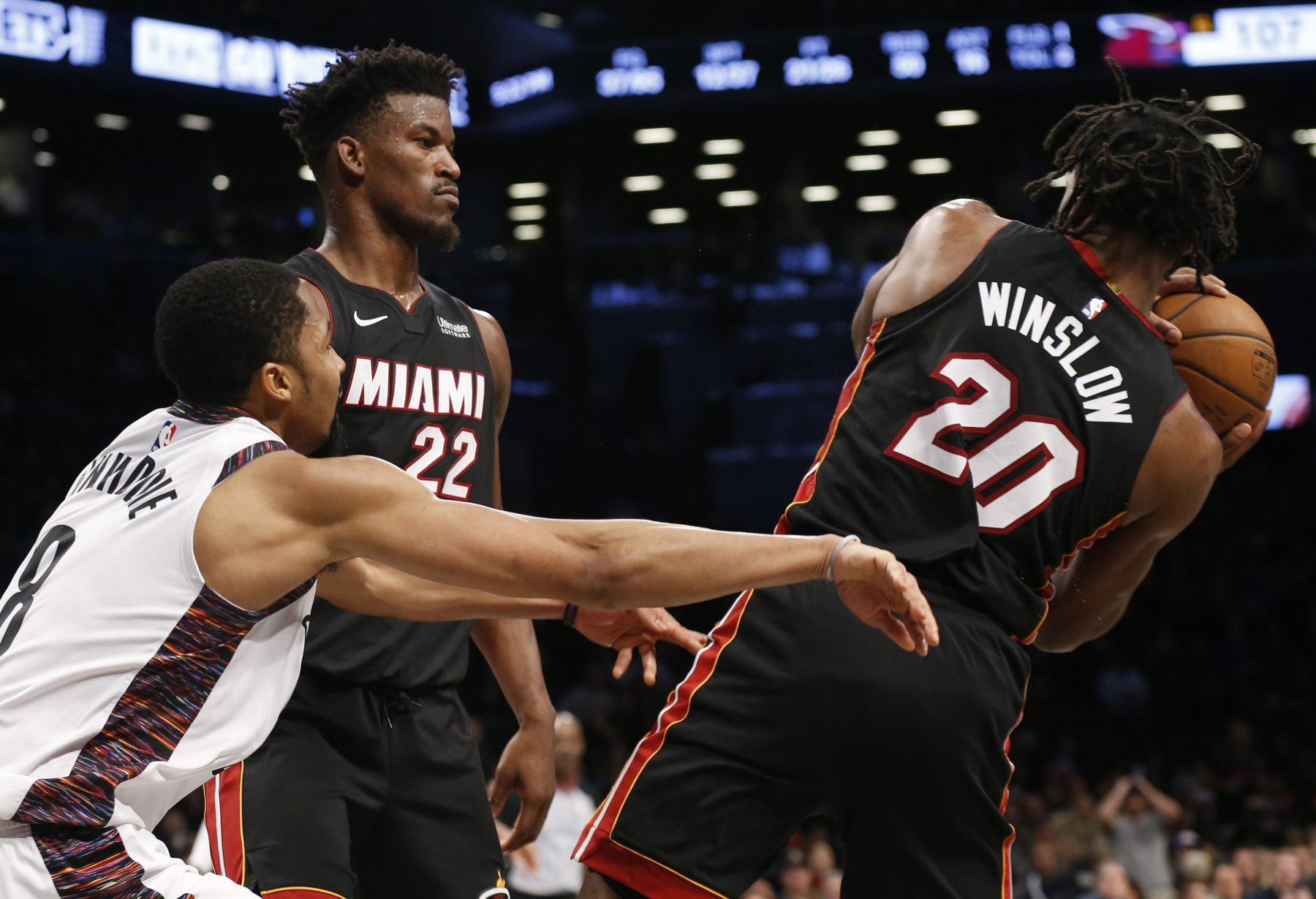 Jimmy Butler and Justise Winslow
