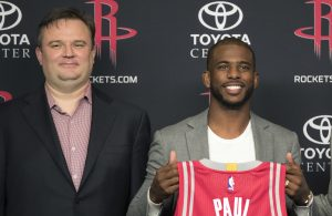 Daryl Morey and Chris Paul