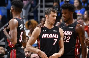 Goran Dragic and Jimmy Butler