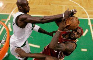 Kevin Garnett LeBron James