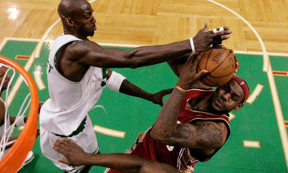 Kevin Garnett Says Boston Celtics Broke Lebron James In Cleveland Heat Nation