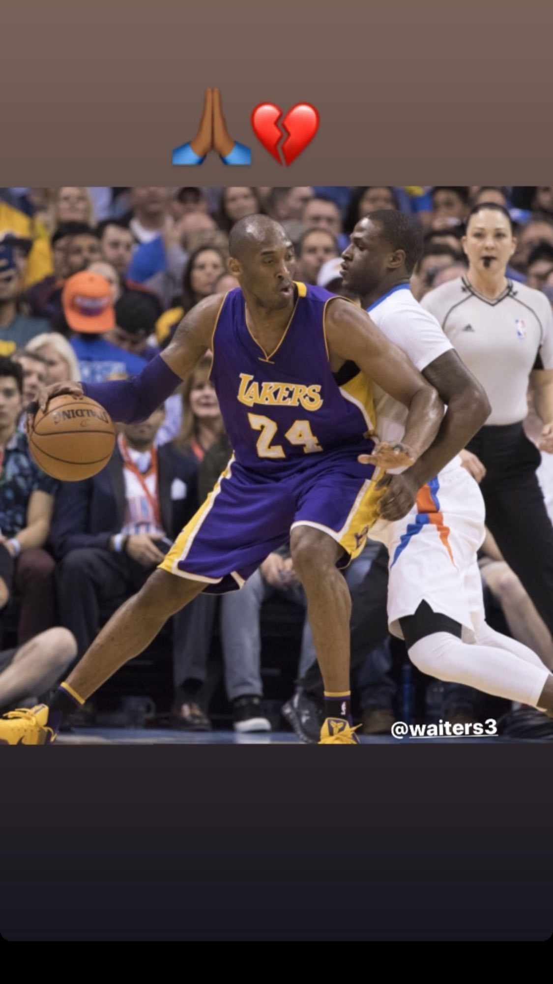 Kobe Bryant and Dion waiters