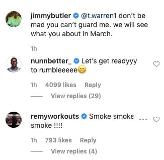 Kendrick Nunn and Jimmy Butler