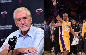 Pat Riley and Kobe Bryant