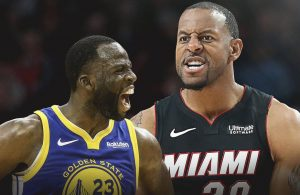 Draymond Green and Andre Iguodala