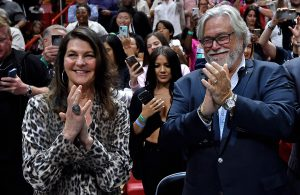 Micky Arison and Madeleine Arison