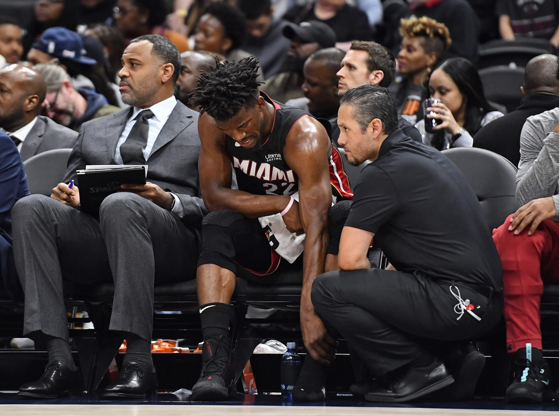 Report Erik Spoelstra Gives Optimistic Update On Jimmy Butler S Latest Foot Injury Heat Nation