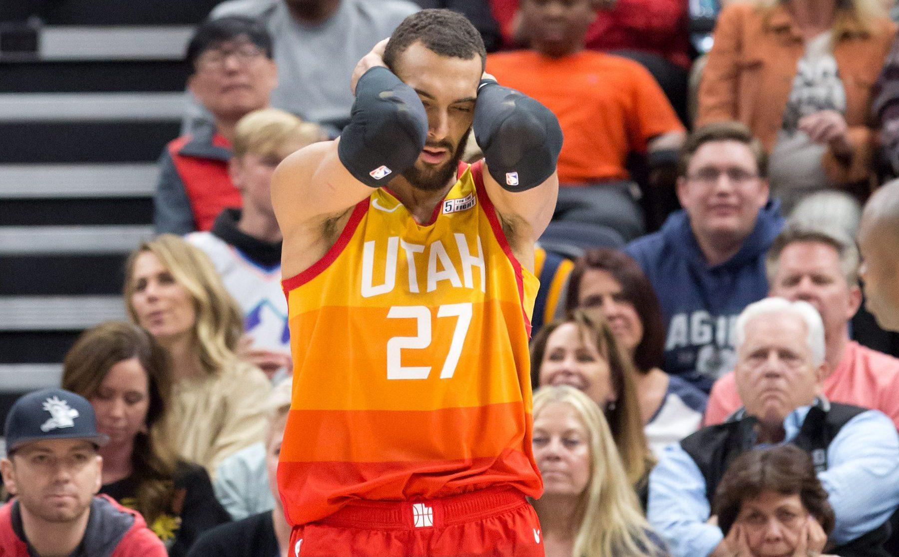 Rudy Gobert Utah Jazz