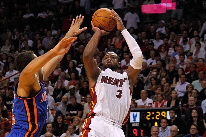 Dwyane Wade Knicks