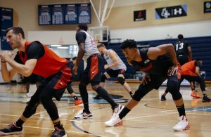 Miami Heat Players Practice