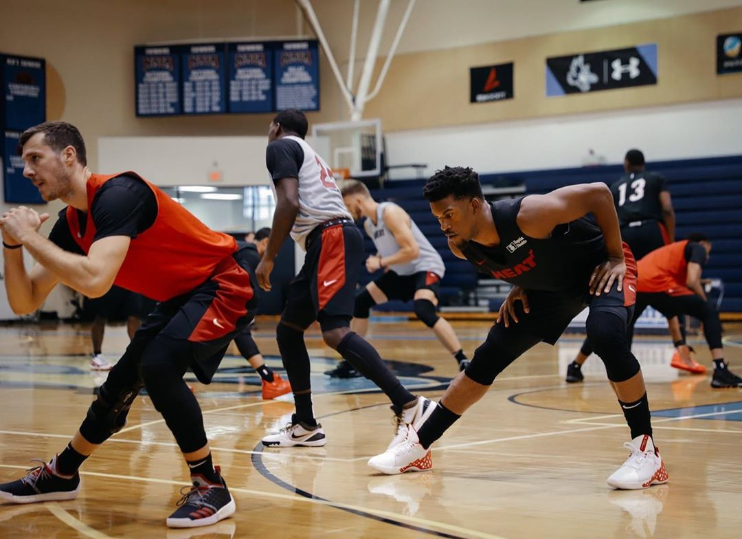 Starting May 1, National Basketball Association opening practice facilities for some teams