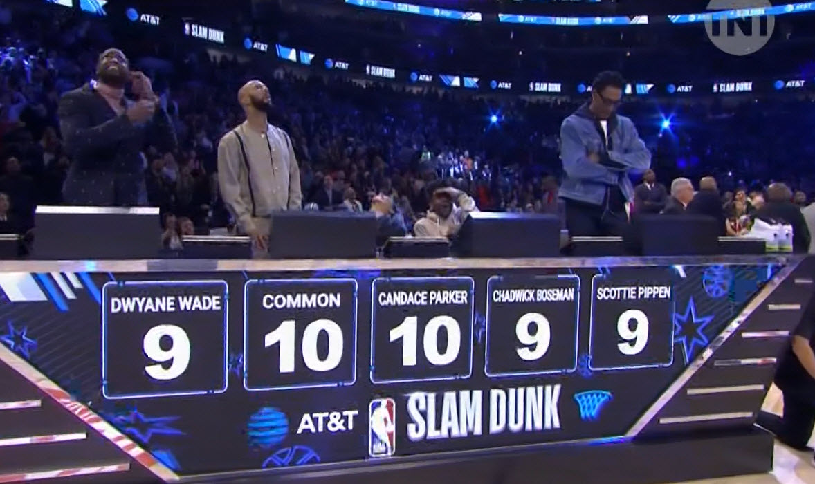 Dwyane Wade Dunk Contest