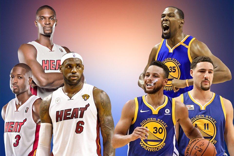 Big 3 Miami Heat vs. Big 3 Golden State Warriors