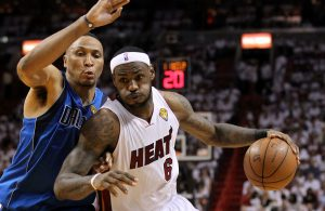 Shawn Marion and LeBron James