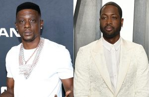 Boosie Badazz and Dwyane Wade
