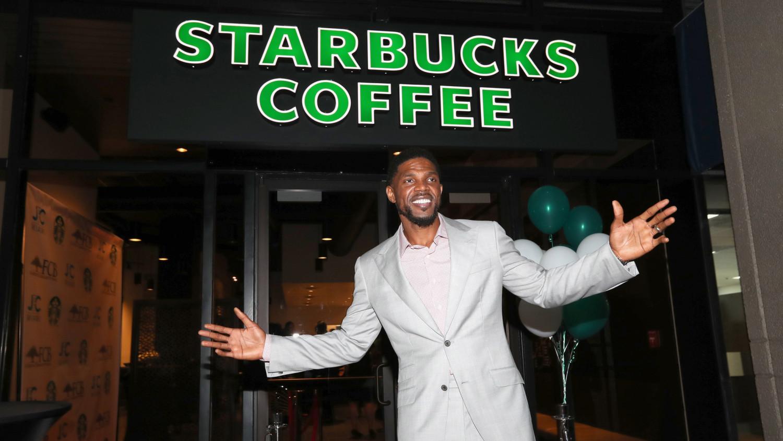 Udonis Haslem Starbucks