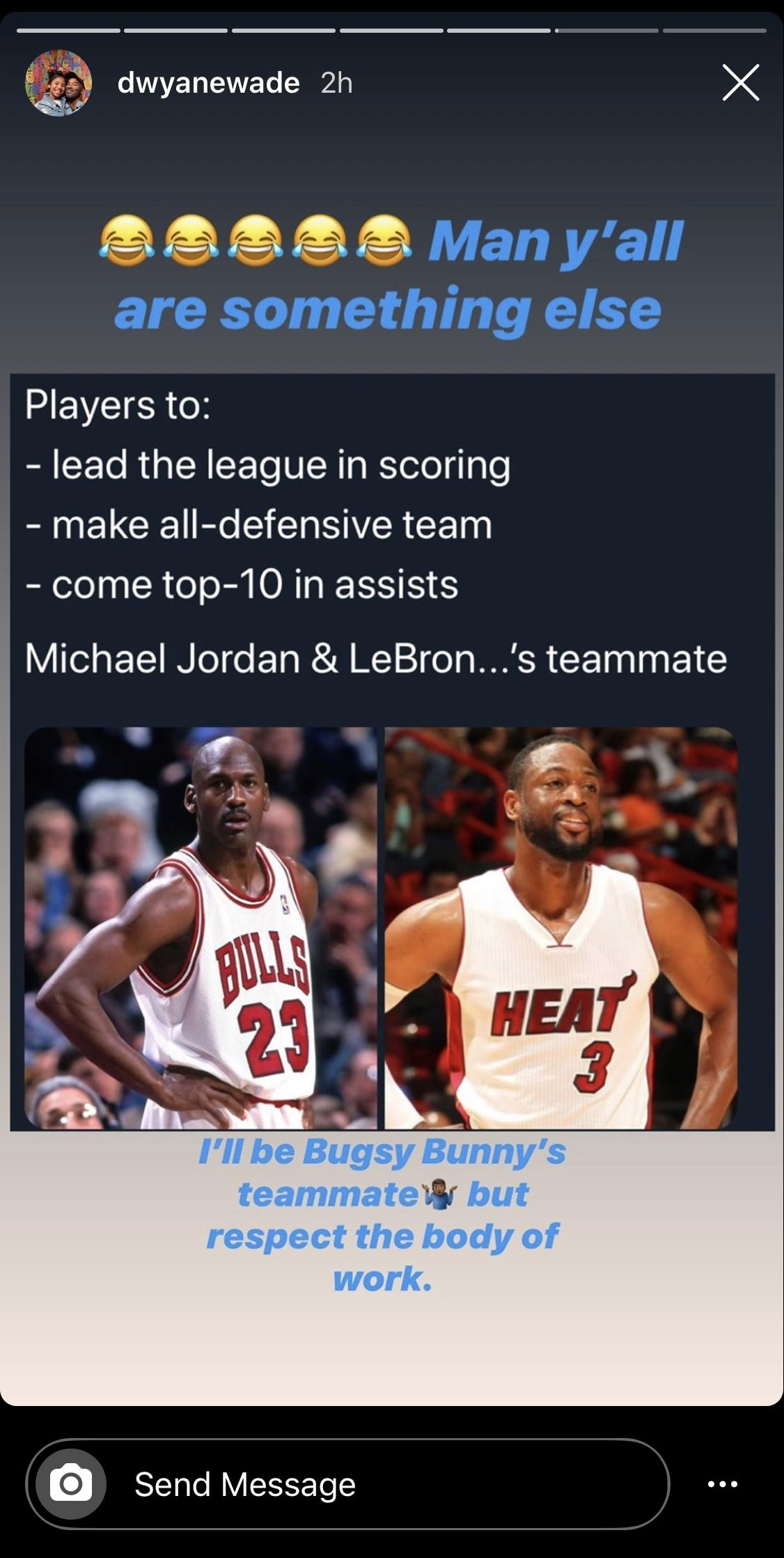 Michael Jordan and Dwyane Wade