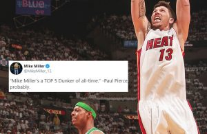 Mike Miller and Paul Pierce