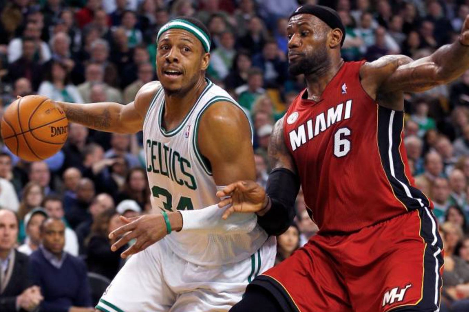 Former Celtic Says Paul Pierce And His Teammates Saw Lebron James As Soft Heat Nation