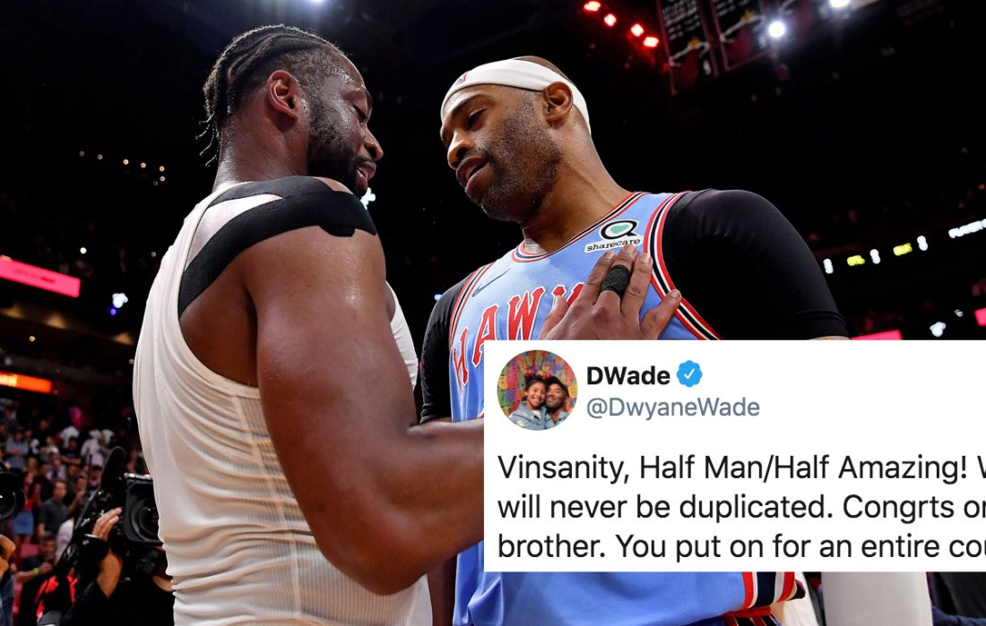Dwyane Wade and Vince Carter