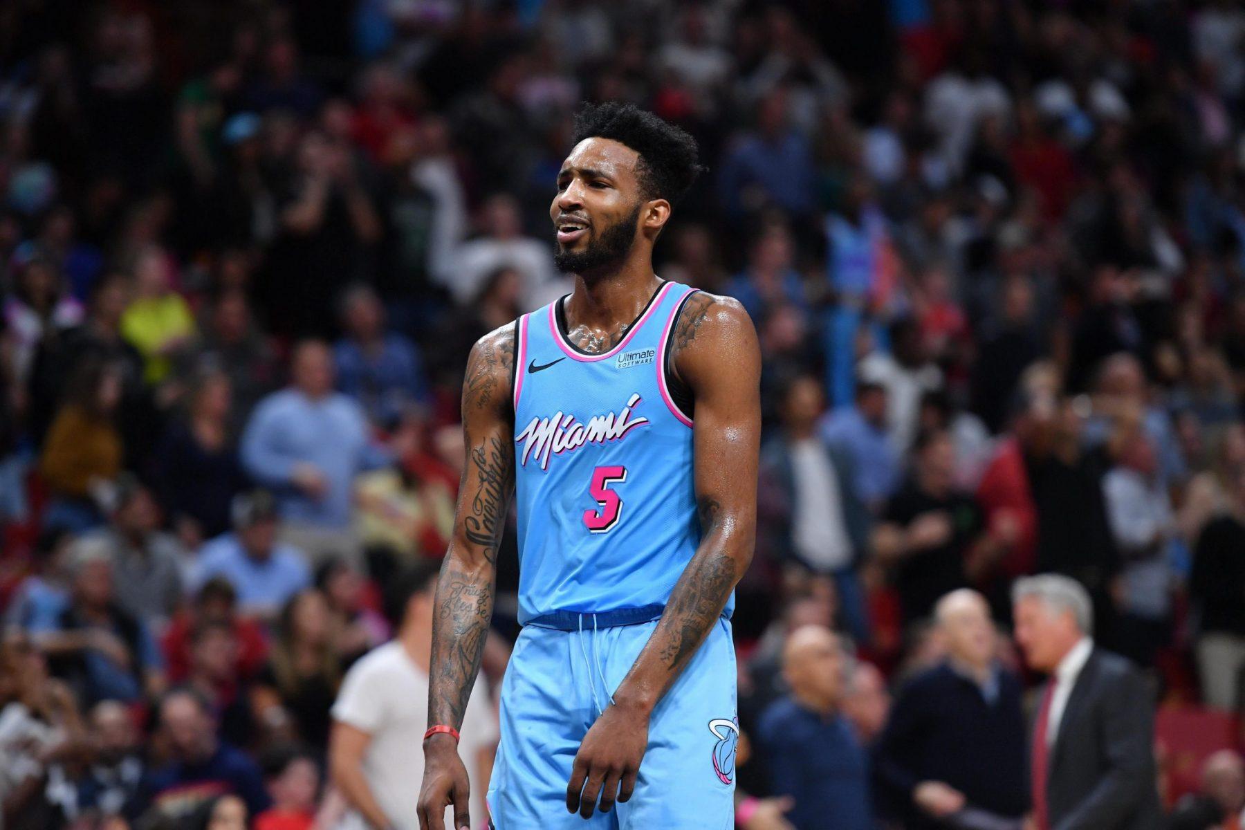 Heat's Derrick Jones Jr. tests positive for COVID-19