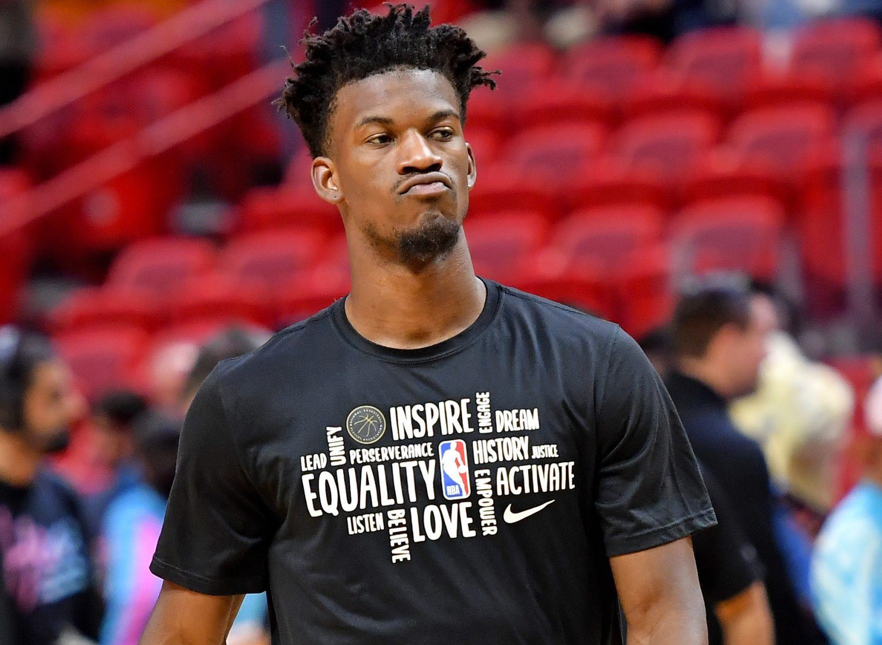 Report Over 30 Players Follow Jimmy Butler S Lead In His Latest Quest For Social Justice Heat Nation