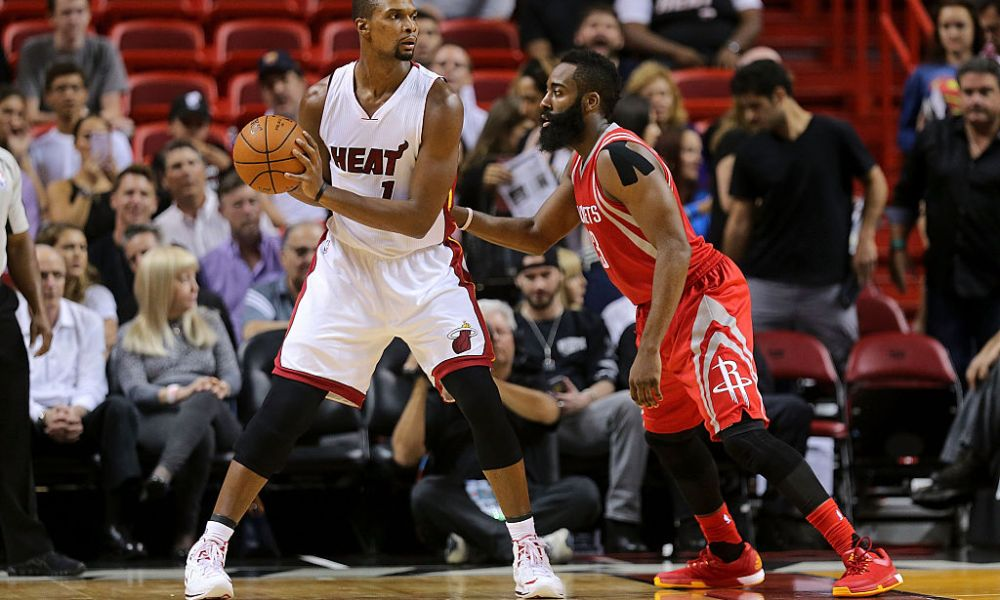 Chris Bosh and James Harden