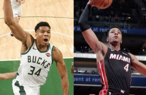 Giannis Antetokounmpo and KZ Okpala