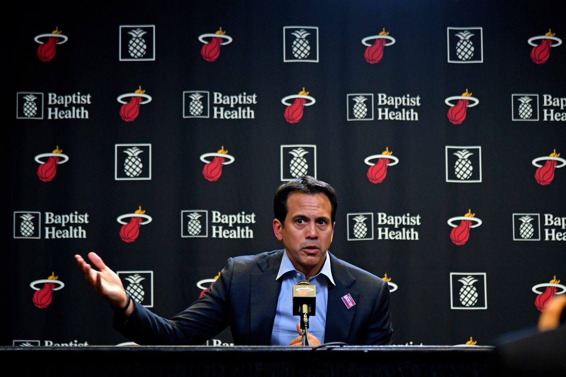 Erik Spoelstra Explains Why It S Unrealistic To Expect Miami Heat To Reach Peak Heat Nation