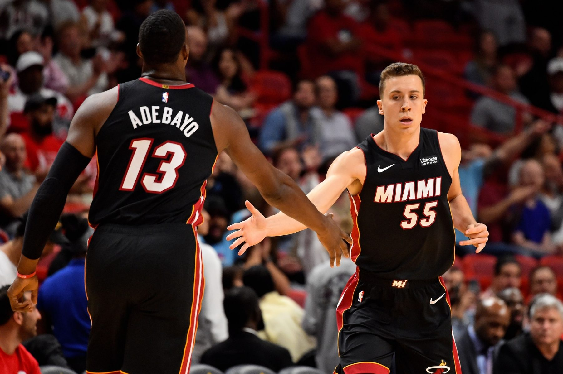Erik Spoelstra Explains Why Both Bam Adebayo And Duncan Robinson Deserve Most Improved Player Award Heat Nation