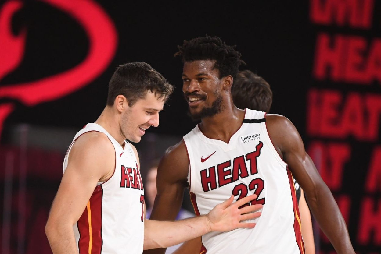 Jimmy Butler and Goran Dragic