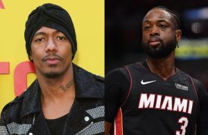 Nick Cannon and Dwyane Wade