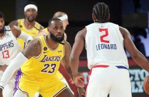 LeBron James and Kawhi Leonard