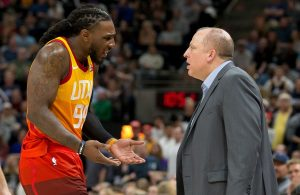 Jae Crowder and Tom Thibodeau