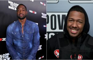 Dwyane Wade and Nick Cannon