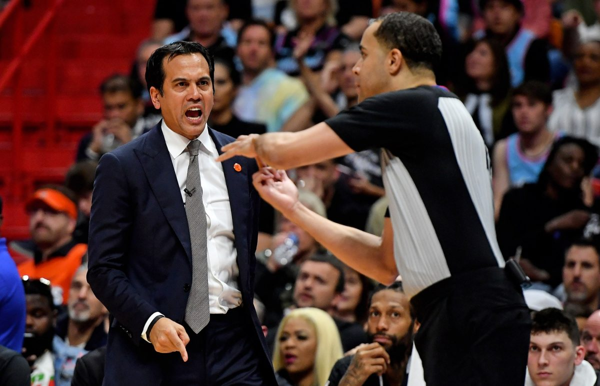 Miami Heat Head Coach Erik Spoelstra Has Heated Message For Bam Adebayo Haters Heat Nation