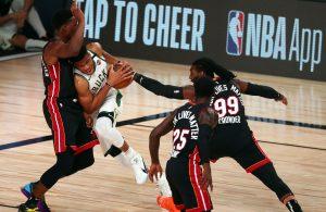 Miami Heat and Giannis Antetokounmpo
