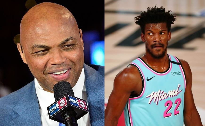 Charles Barkley and Jimmy Butler