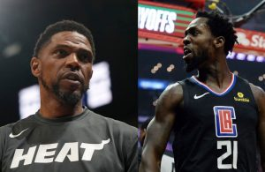 Udonis Haslem and Patrick Beverley